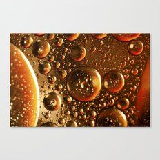 Oil And Water Don't Mix Canvas Print