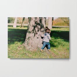 Little People Games Metal Print