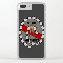 Bolt Cutter Clear iPhone Case