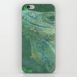 Wild Iguana iPhone Skin