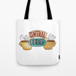 Central Perk from Friends TV Show Tote Bag