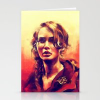 hiccup Stationery Cards featuring Abraham's Daughter by Alice X. Zhang