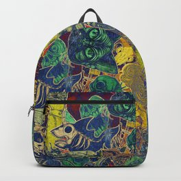 Color Stickers Backpack