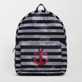 Nautical anchor Backpack