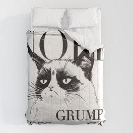 Grumpy the cat Comforters