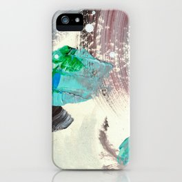 Snowy Walk in the Woods 02 iPhone Case