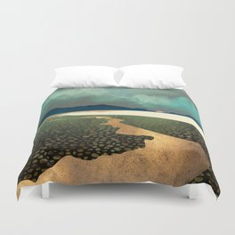 Distant Land Duvet Cover