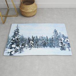 The magic of winter Rug