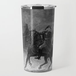 Washington At The Battle Of Trenton Travel Mug