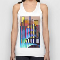 seattle Tank Tops featuring Seattle by Kristine Rae Hanning