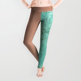 NEW EMOTIONS - ROSE & TEAL Leggings