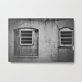 windows. Metal Print