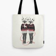 siamese twins Tote Bag
