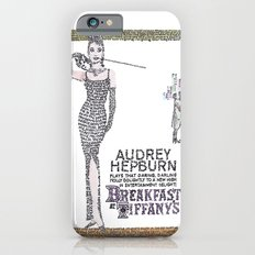 Breakfast at Tiffany's in Color Slim Case iPhone 6