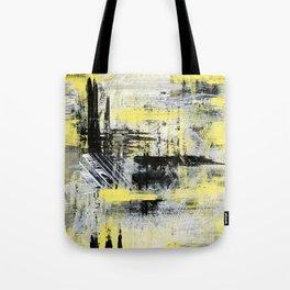 Urban Abstract Tote Bag