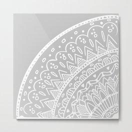 Circle Mandala Metal Print