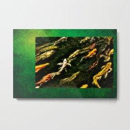 Upstream Dream Nature Portrait by Jeanpaul Ferro Metal Print