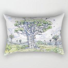 La Citta Arborea! Rectangular Pillow