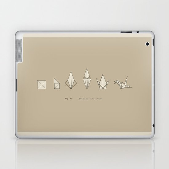 Evolution of Paper Crane Laptop & iPad Skin
