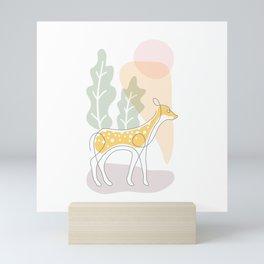 little deer Mini Art Print