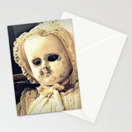 Antique Doll with Bonnet Stationery Cards