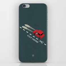 Livin' on the edge iPhone & iPod Skin
