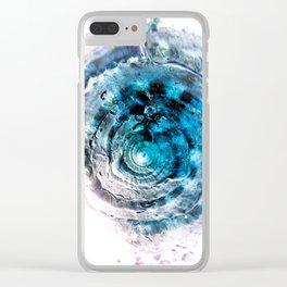 CONCHIGLIA Clear iPhone Case