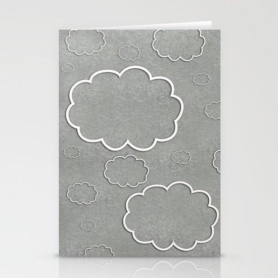 Cartoon Sky Stationery Cards