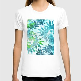 Tropical adventure - Blue T-shirt