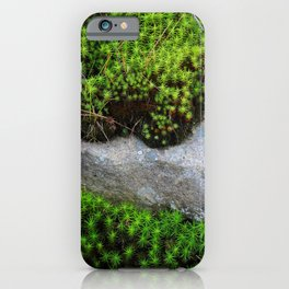 Vibrant Moss iPhone Case