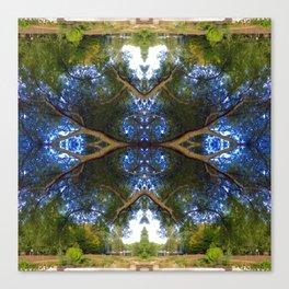 Organic Symmetry Canvas Print