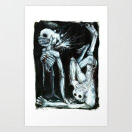 Shivers Art Print