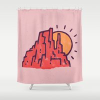 utah Shower Curtains featuring Utah by WEAREYAWN