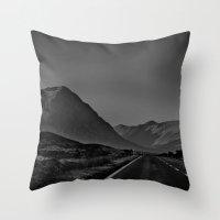 scotland Throw Pillows featuring Scotland by itsthezoe