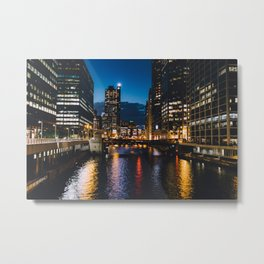 Chicago - Mecca of the Midwest V Metal Print