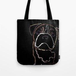 Bulldog Pup Tote Bag