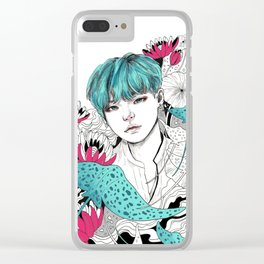 BTS Suga Clear iPhone Case