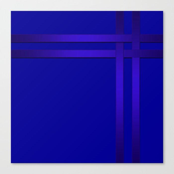 Cobalt blue Leinwanddruck