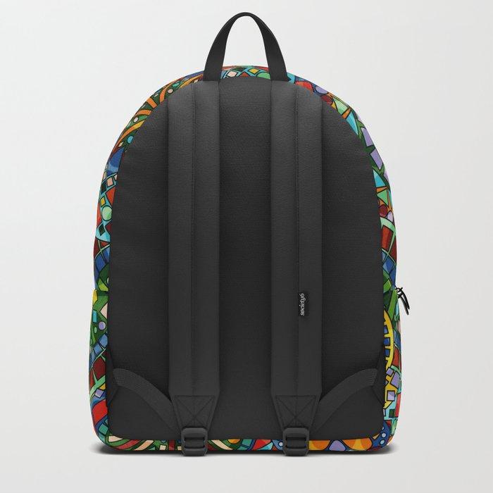 Cheerful Circles Backpack