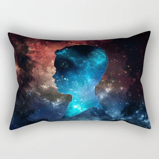 Brain Space Rectangular Pillow