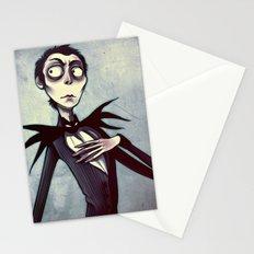 jackskellingtonpumpkinking Stationery Cards