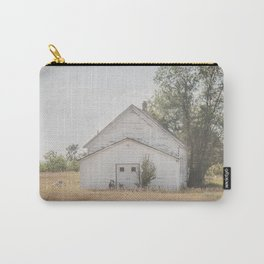 Church, Fort Clark, ND 3 Carry-All Pouch