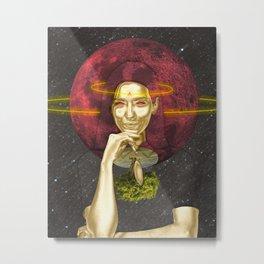 Andromedan Satellite Metal Print