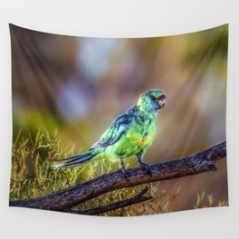 Mallee Ringneck Parrot Wall Tapestry