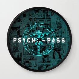 Psycho Pass Wall Clock