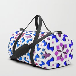 Beautiful oriental flower pattern 9 Duffle Bag