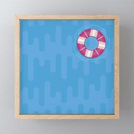 Floaty Framed Mini Art Print
