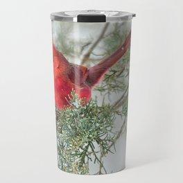 Cocky Cardinal Travel Mug