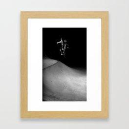 Downey - Ollie  Framed Art Print