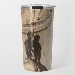 Manneken Pis Travel Mug